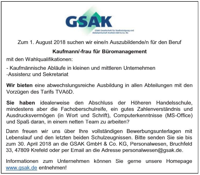 GSAK GmbH & Co. KG